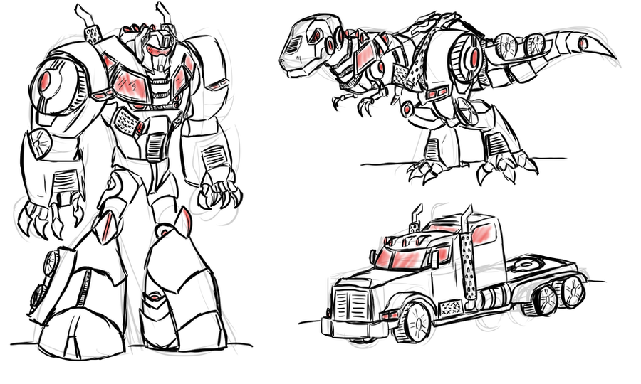 Transformers prime grimlock coloring pages coloring pages for Grimlock coloring page