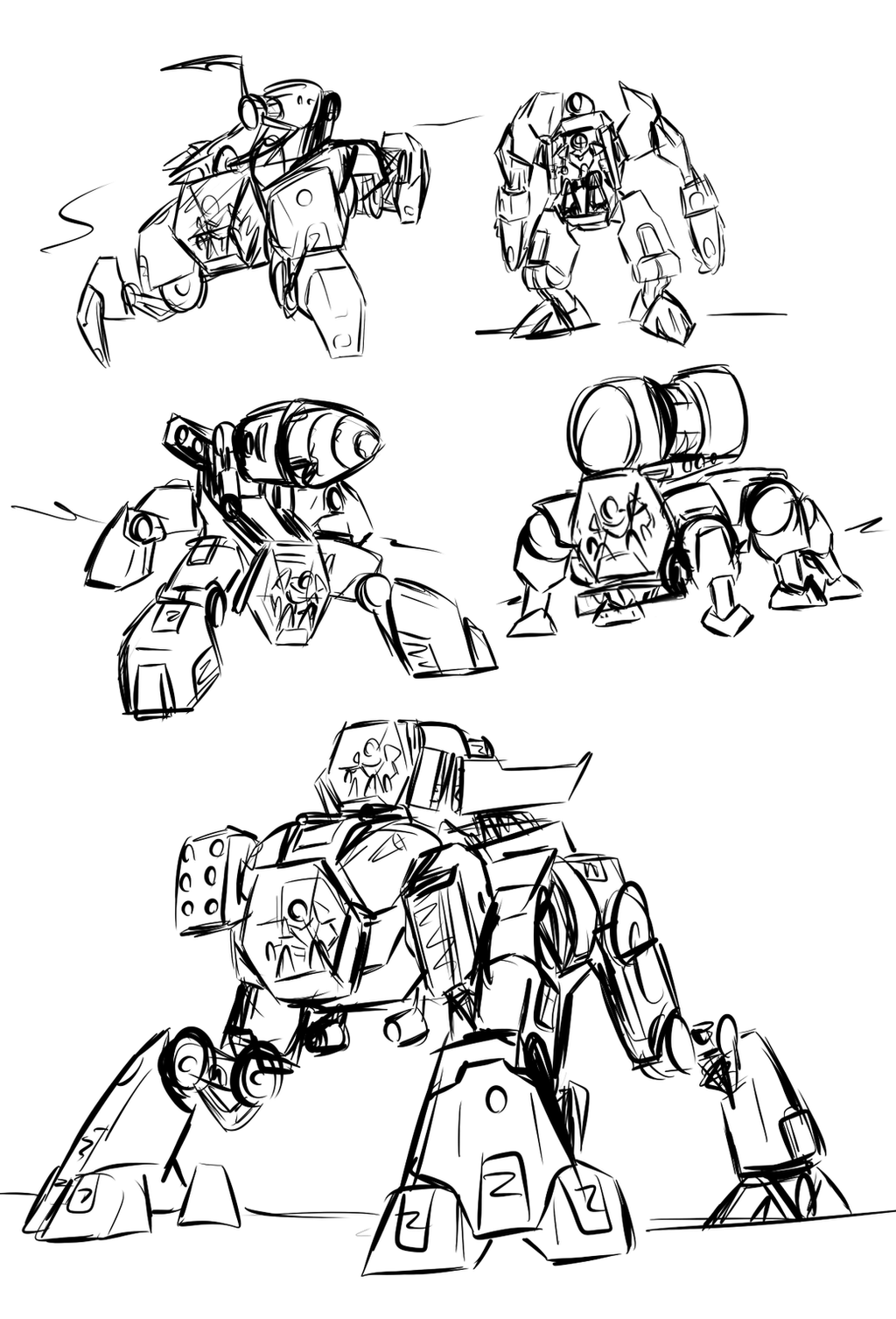 draconyx13 14 1 hf ifb wave 2 mechs by kalhiki - Hero Factory Coloring Pages Furno
