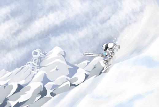 OcTOAber No.5: Kopaka descends the mountain