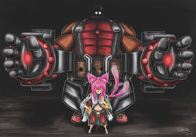 Tager and Kokonoe by Mike-Oliveras