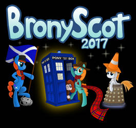 BronyScot convention T-Shirt 2017 by Steam-Loco