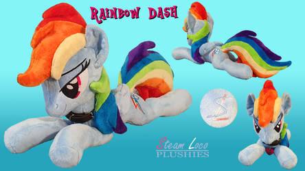 Rainbow Dash plushie
