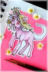 Pretty pink pony