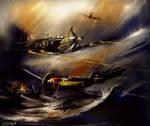 Dunkirk Spitfire Messerschimtt