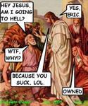 jesus and erick funny