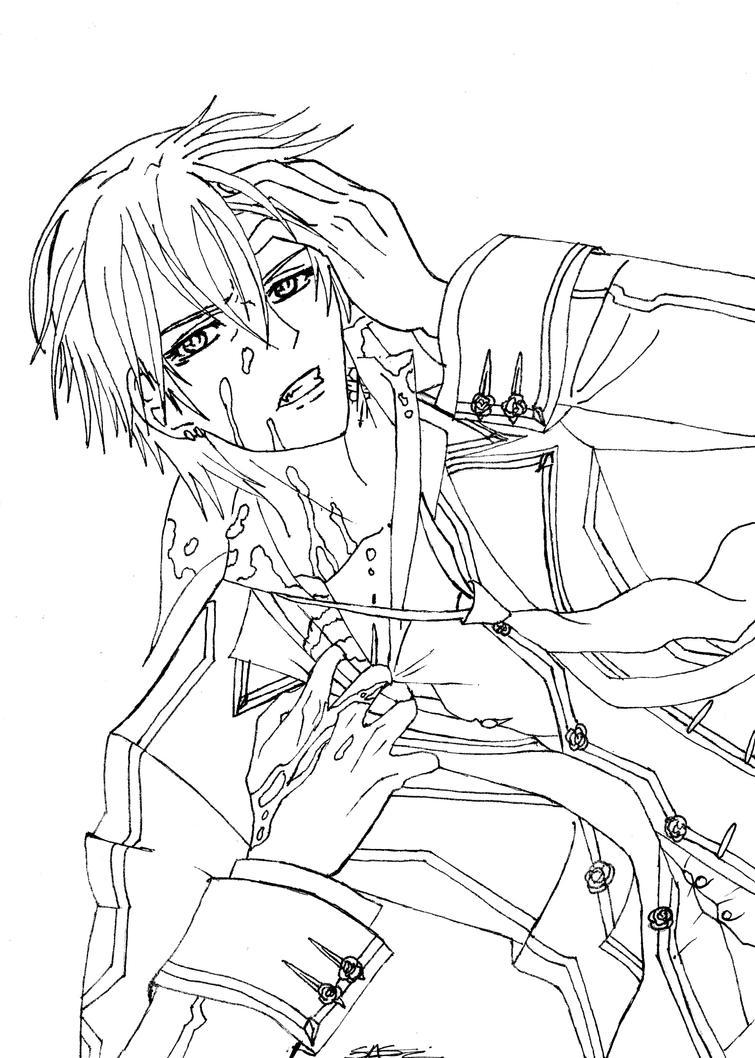 Line Art Zero : Zero kiriyuu line art by straykittenchan on deviantart