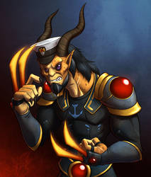 Faces of Wildstar - Chief Sarcan