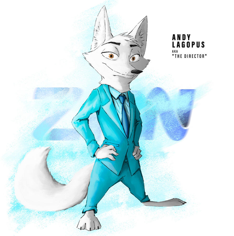 Sunderance - Character Profile: Andy Lagopus by TheWyvernsWeaver