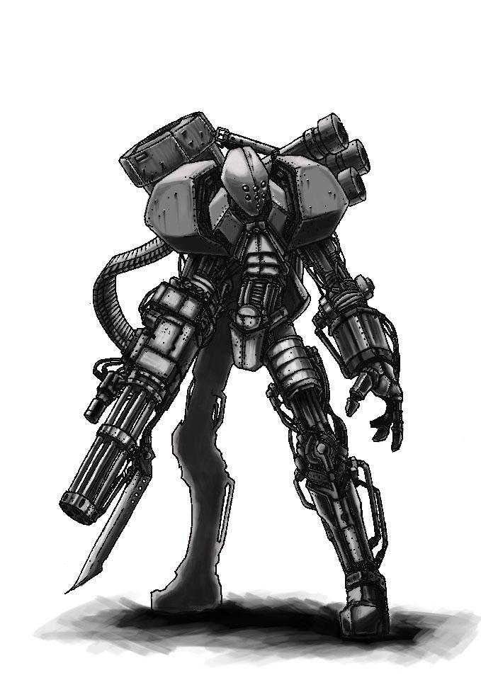 Cyborg Render Digital by HellAcolyte on DeviantArt