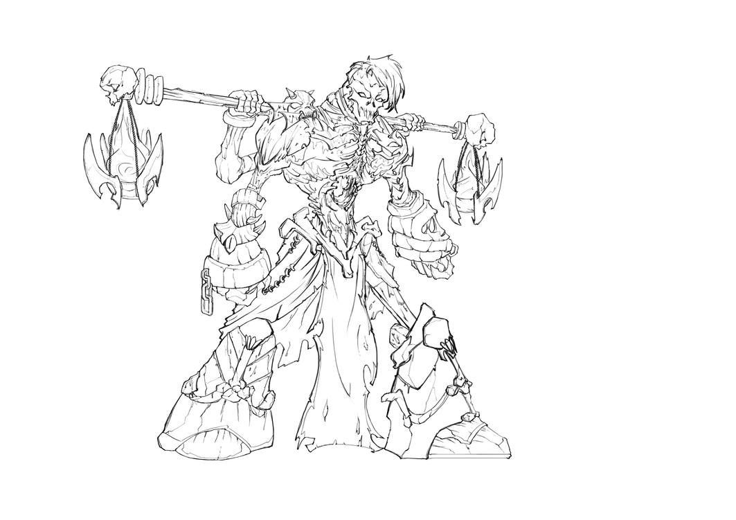 Famine line art done by HellAcolyte