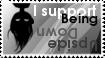 Upside down stamp by LaGomita