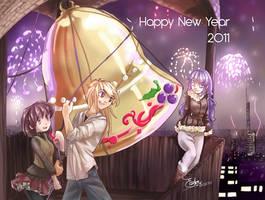Happy new year by LaGomita