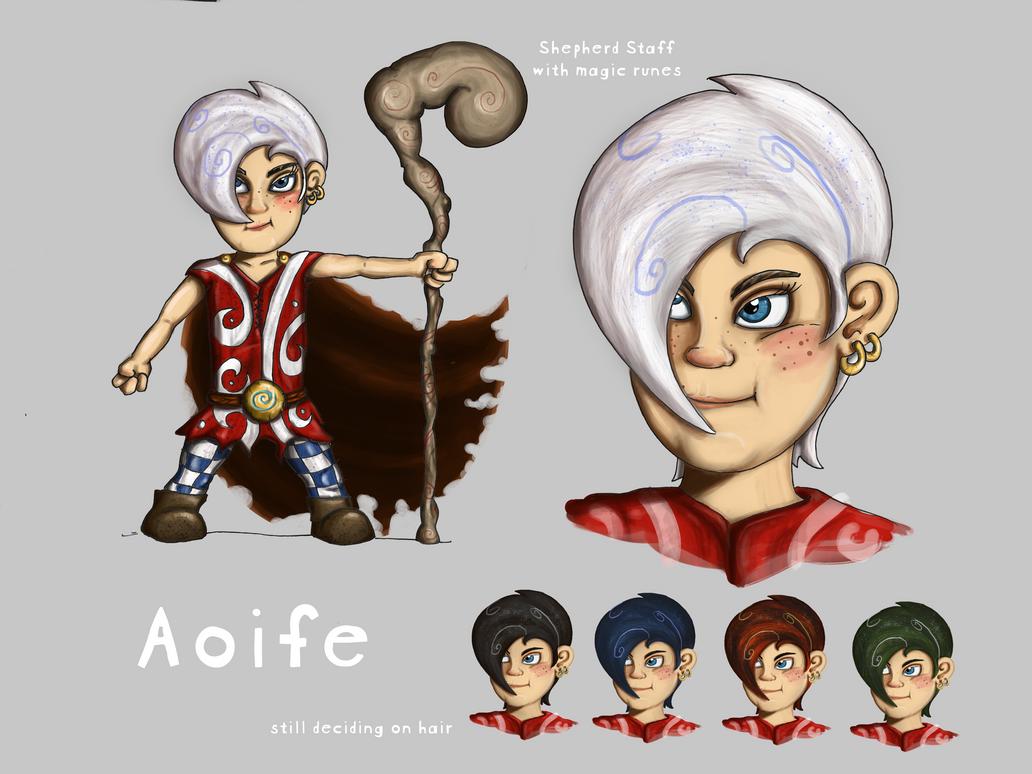 Aoife the Shepherd by Shodanicron