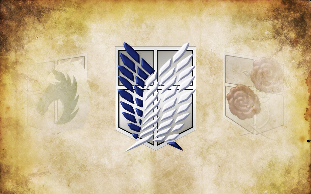 Survey Corps Wallpaper by Luna-risSurvey Corps Wallpaper