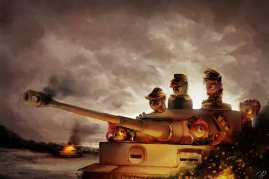 We Trot to War