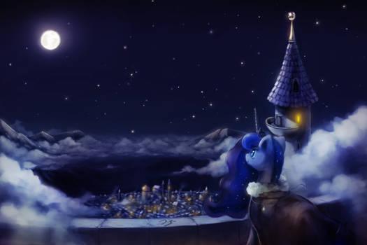 Luna's Determination