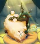 Fluffy Pillow Time