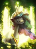 Sun Princess Collab by AnticularPony