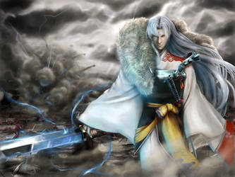 Lord Sesshomaru by spirapride