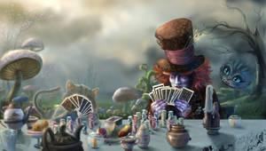 Card Game Tea Party