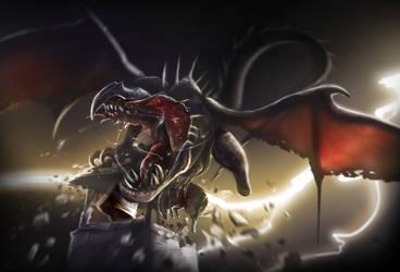 4Hour-Dragon Speed Painting Tutorial