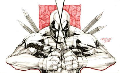 Deadpool Redpool by aposcar