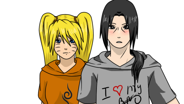 Naruko and Itachi by Naruko16-33 on DeviantArt Naruko And Itachi