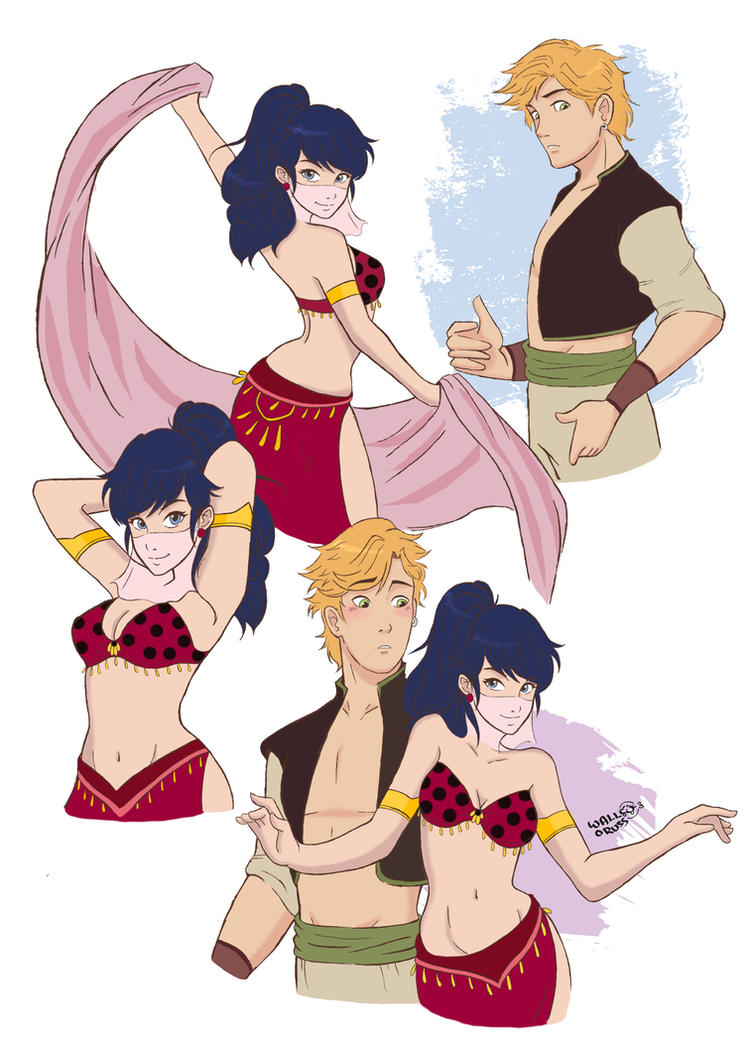 Attractive AU: Miraculous Ladybug By WallOruss ...