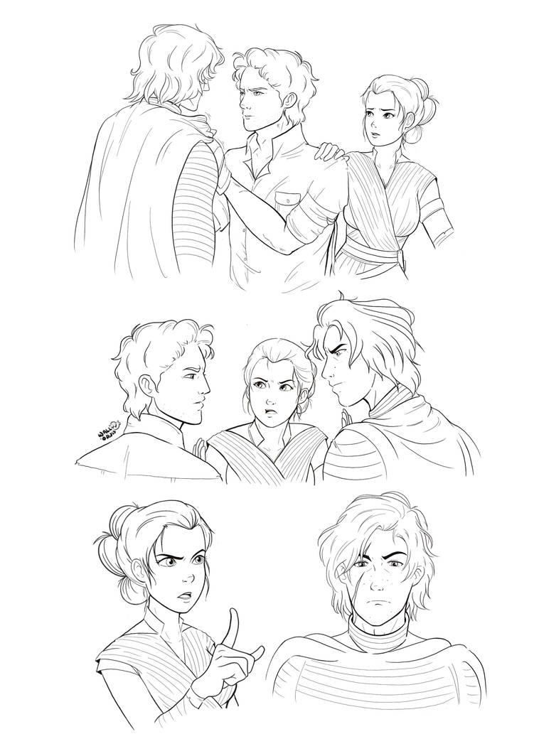 Rise of Skywalker by wallOruss