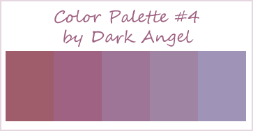 Color Palette 4 by dark angel by Dark-----Angel