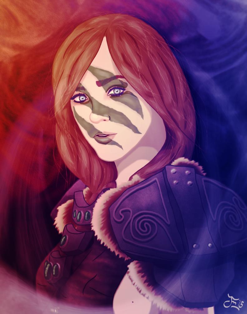 Aela The Huntress by DoranBladefist on DeviantArt