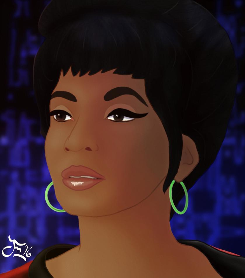 Lt Uhura by DoranBladefist