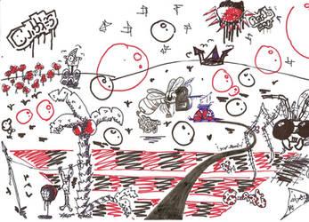 Urban sketch by colben