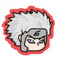 2nd Hokage Sticker by Creeper-Keaton