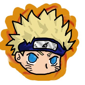Naruto sticker by creeper keaton