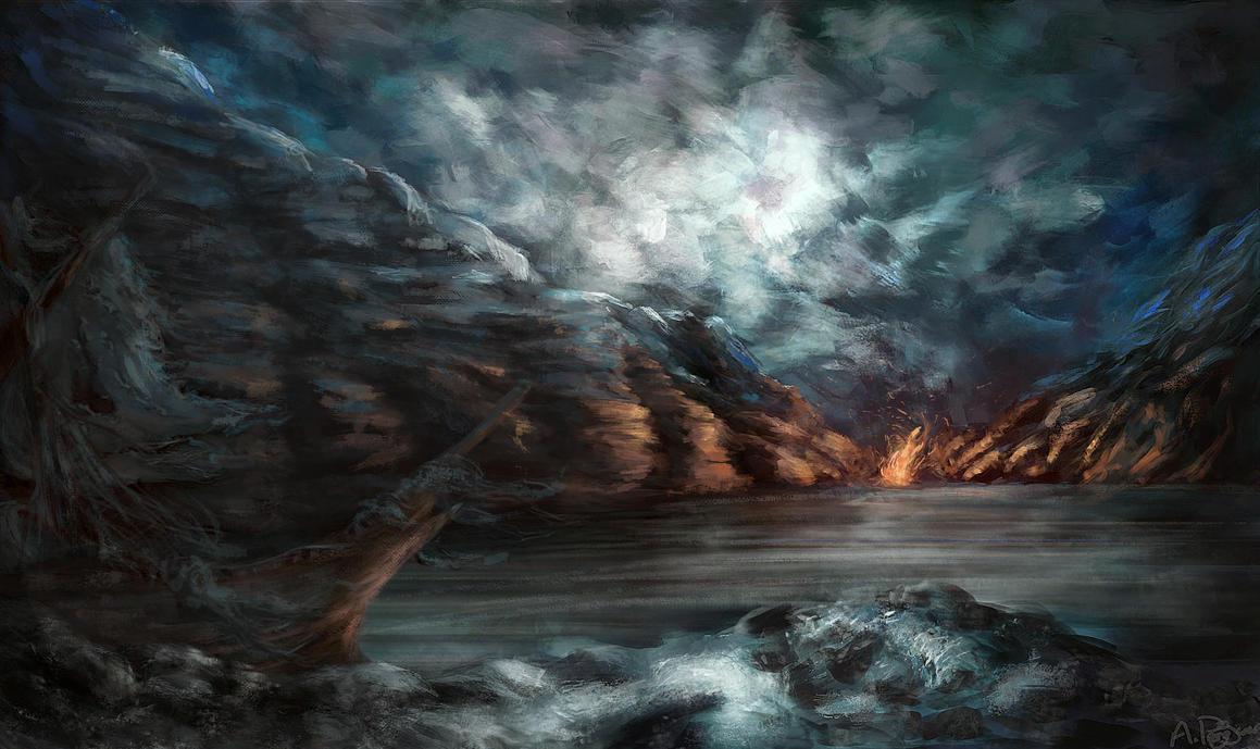 Dead Sea by AlbanArtist