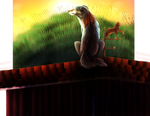 Border Collie by VelocityDrawing17
