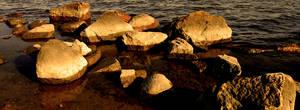 Evening On The Rocks by BiggDaddy