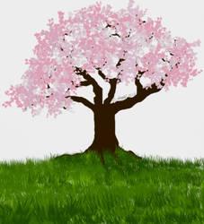 Pink Petals  by Sylliika