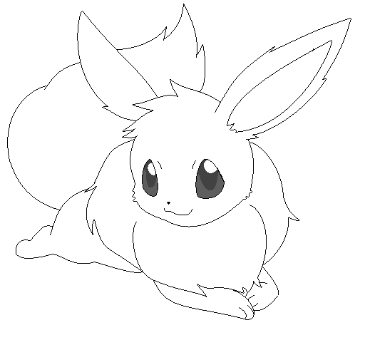 Free to Use Pokemon Images Eevee_lineart_10_by_michy123-d38yoxw