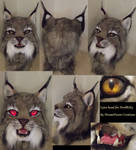 Canadian Lynx fursuit head