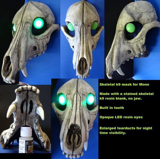 Mono's Halloween Mask by DreamVisionCreations