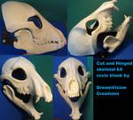 Cut And Hinged Skeletal K9