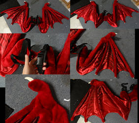 Nemmy Wings by DreamVisionCreations