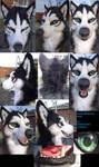 Husky/Malamute Mask *auction*