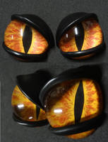 4cm 3D annoyed eyes by DreamVisionCreations