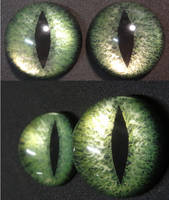 Olive Eyes by DreamVisionCreations