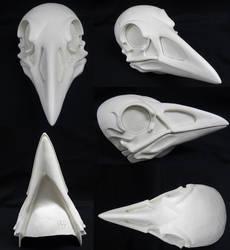 Skeletal Crow Resin Blank by DreamVisionCreations