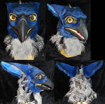 Artistic Liberty Blue Gryphon