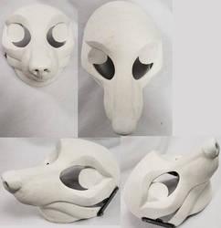 Semi-realistic Fox Resin Blank